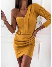Φόρεμα - κώδ. 2079 - μουσταρδί