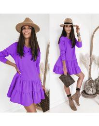 Φόρεμα - κώδ. 8486 - μωβ