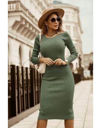 Φόρεμα - κώδ. 8485 - πράσινο