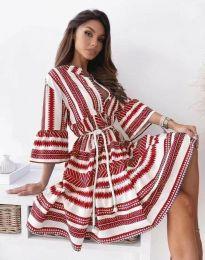Φόρεμα - κώδ. 1481 - κόκκινο