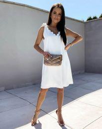 Φόρεμα - κώδ. 2504 - λευκό