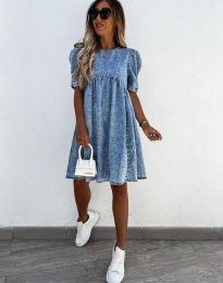 Φόρεμα - κώδ. 0617 - 1 - μπλε