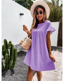 Φόρεμα - κώδ. 744 - μωβ