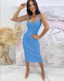 Φόρεμα - κώδ. 10033 - μπλε