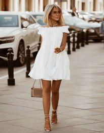 Φόρεμα - κώδ. 6969 - λευκό