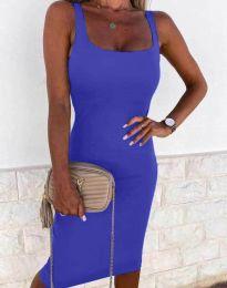 Φόρεμα - κώδ. 8899 - navy μπλε