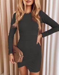 Φόρεμα - κώδ. 2835 - γραφίτη