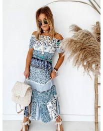 Φόρεμα - κώδ. 5061 - μπλε