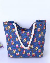 Τσάντα - κώδ. B461 - μπλε