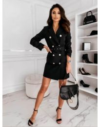 Φόρεμα - κώδ. 5888 - 1 - μαύρο