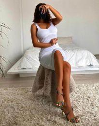 Φόρεμα - κώδ. 10122 - λευκό