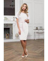 Φόρεμα - κώδ. 3698 - λευκό