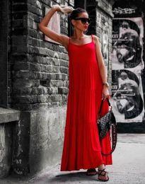 Φόρεμα - κώδ. 2301 - 5 - κόκκινο
