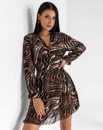 Φόρεμα - κώδ. 8433 - πολύχρωμο