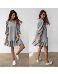 Φόρεμα - κώδ. 784 - γκρι