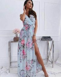 Φόρεμα - κώδ. 4801 - 4 - φλοράλ