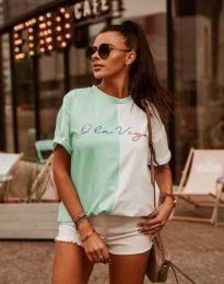 Κοντομάνικο μπλουζάκι - κώδ. 0563 - 2 - πολύχρωμο