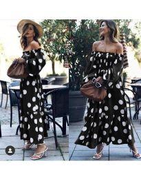 Φόρεμα - κώδ. 9951 - μαύρο