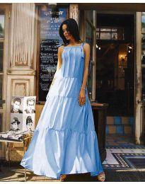 Φόρεμα - κώδ. 1105 - γαλάζιο