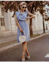 Φόρεμα - κώδ. 7045 - γαλάζιο