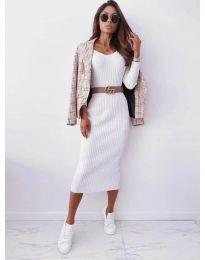 Φόρεμα - κώδ. 5878 - λευκό