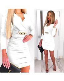 Φόρεμα - κώδ. 8999 - λευκό