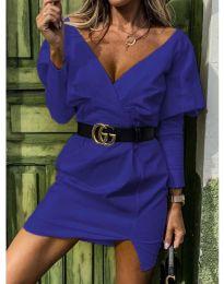 Φόρεμα - κώδ. 1617 - μπλε