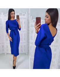 Φόρεμα - κώδ. 974 - μπλε