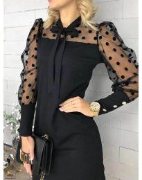 Φόρεμα - κώδ. 1081 - μαύρο