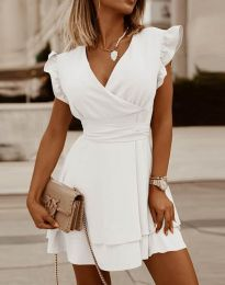 Φόρεμα - κώδ. 5654 - λευκό