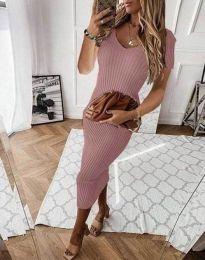 Φόρεμα - κώδ. 0714 - 4 - πούδρα