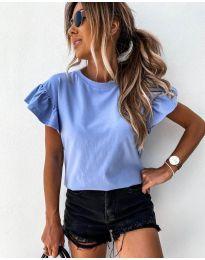 Κοντομάνικο μπλουζάκι - κώδ. 520 - γαλάζιο