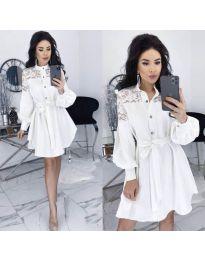 Φόρεμα - κώδ. 6364 - λευκό