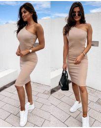 Φόρεμα - κώδ. 0208 - μπεζ