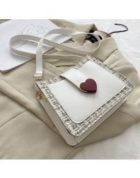 Τσάντα - κώδ. B117 - λευκό