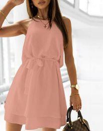 Φόρεμα - κώδ. 9968 - πούδρα