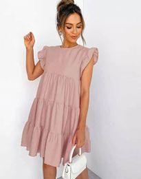 Φόρεμα - κώδ. 2666 - πούδρα