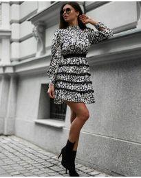 Φόρεμα - κώδ. 9013 - 1 - πολύχρωμο
