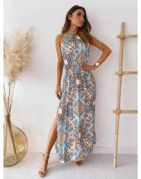 Φόρεμα - κώδ. 6038 - πολύχρωμο