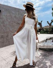 Φόρεμα - κώδ. 4806 - λευκό