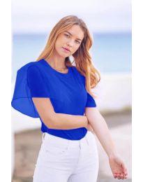 Κοντομάνικο μπλουζάκι - κώδ. 527 - μπλε