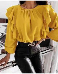 Μπλούζα - κώδ. 4445 - κίτρινο