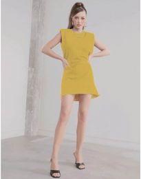 Φόρεμα - κώδ. 625 - μουσταρδί