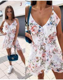 Φόρεμα - κώδ. 2777 - λευκό
