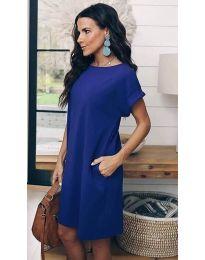 Φόρεμα - κώδ. 659 - σκούρο μπλε