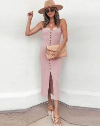 Φόρεμα - κώδ. 8841 - ροζ
