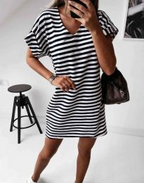 Φόρεμα - κώδ. 12006 - μαύρο