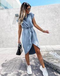 Φόρεμα - κώδ. 2074 - μπλε