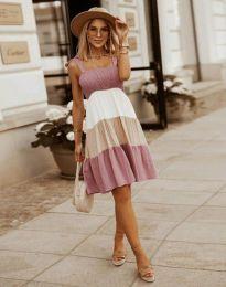 Φόρεμα - κώδ. 11922 - πούδρα