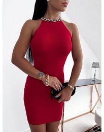 Φόρεμα - κώδ. 9690 - κόκκινο
